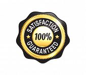 Golden Satisfaction Guaranteed Badge