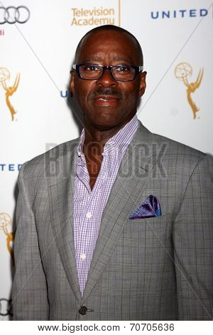LOS ANGELES - AUG 23:  Courtney B. Vance at the Television Academy's Perfomers Nominee Reception at Pacific Design Center on August 23, 2014 in West Hollywood, CA