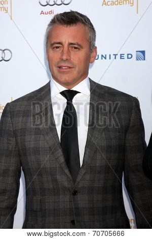 LOS ANGELES - AUG 23:  Matt LeBlanc at the Television Academy's Perfomers Nominee Reception at Pacific Design Center on August 23, 2014 in West Hollywood, CA