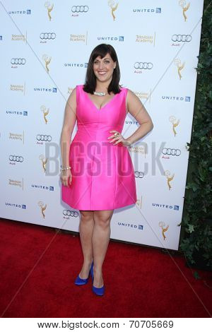 LOS ANGELES - AUG 23:  Allison Tolman at the Television Academy's Perfomers Nominee Reception at Pacific Design Center on August 23, 2014 in West Hollywood, CA