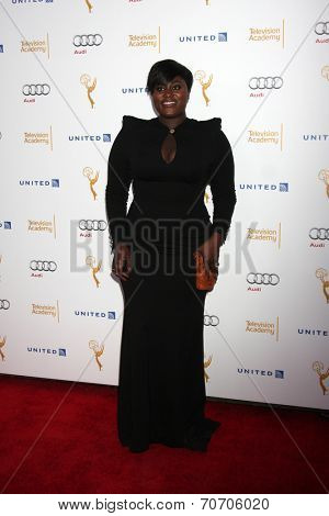 LOS ANGELES - AUG 23:  Danielle Brooks at the Television Academy's Perfomers Nominee Reception at Pacific Design Center on August 23, 2014 in West Hollywood, CA