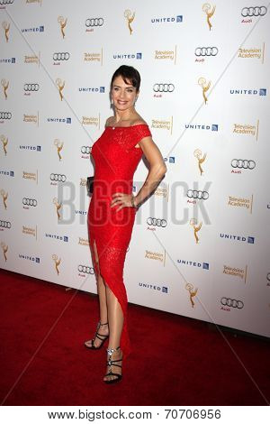 LOS ANGELES - AUG 23:  Cristina Parovel at the Television Academy's Perfomers Nominee Reception at Pacific Design Center on August 23, 2014 in West Hollywood, CA