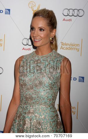LOS ANGELES - AUG 23:  Joanne Froggatt at the Television Academy's Perfomers Nominee Reception at Pacific Design Center on August 23, 2014 in West Hollywood, CA
