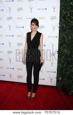 LOS ANGELES - AUG 23:  Michelle Dockery at the Television Academy's Perfomers Nominee Reception at Pacific Design Center on August 23, 2014 in West Hollywood, CA