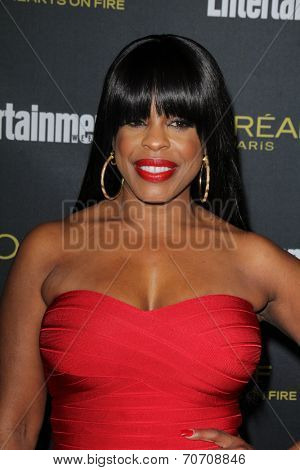 LOS ANGELES - AUG 23:  Niecy Nash at the 2014 Entertainment Weekly Pre-Emmy Party at Fig & Olive on August 23, 2014 in West Hollywood, CA