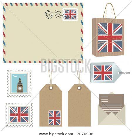 british postage