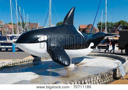 Orca Statue