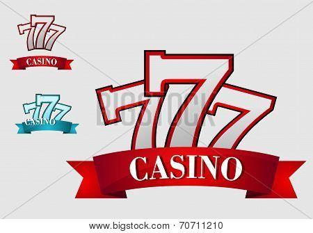 Casino gambling symbol