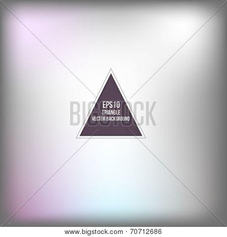 Triangle pattern background. Modern Design