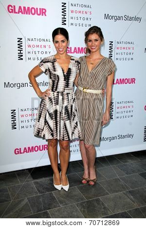 LOS ANGELES - AUG 23:  Ana Ortiz, Brianna Brown at the 3rd Annual Women Making History Brunch at Skirball Center on August 23, 2014 in Los Angeles, CA