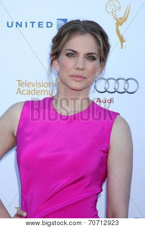 LOS ANGELES - AUG 23:  Anna Chlumsky at the Television Academy's Perfomers Nominee Reception at Pacific Design Center on August 23, 2014 in West Hollywood, CA