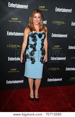LOS ANGELES - AUG 23:  Sasha Alexander at the 2014 Entertainment Weekly Pre-Emmy Party at Fig & Olive on August 23, 2014 in West Hollywood, CA