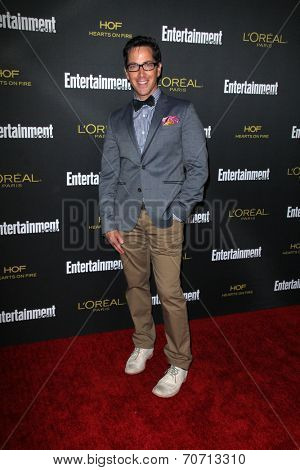LOS ANGELES - AUG 23:  Dan Bucatinsky at the 2014 Entertainment Weekly Pre-Emmy Party at Fig & Olive on August 23, 2014 in West Hollywood, CA