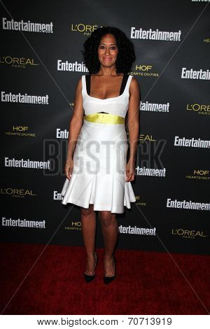LOS ANGELES - AUG 23:  Tracee Ellis Ross at the 2014 Entertainment Weekly Pre-Emmy Party at Fig & Olive on August 23, 2014 in West Hollywood, CA