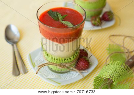 Smothie Strawberries With Banana