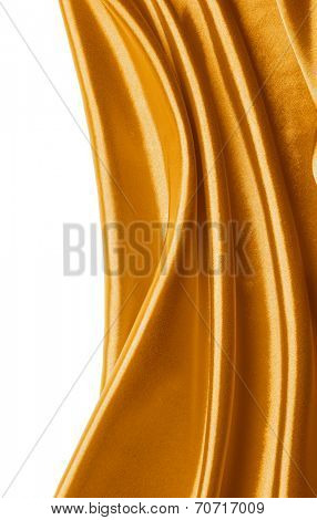 Abstract gold silk background