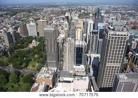 Sydney business district