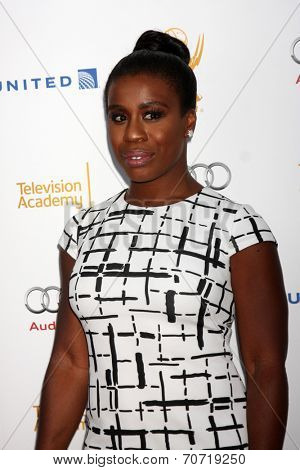 LOS ANGELES - AUG 23:  Uzo Aduba at the Television Academy�?�¢??s Perfomers Nominee Reception at Pacific Design Center on August 23, 2014 in West Hollywood, CA