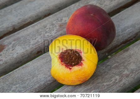 One And A Half Peach