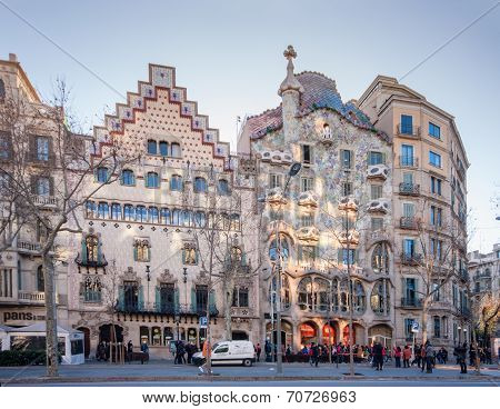 Casa Amatller Barcelona, Spain