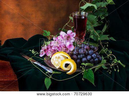 Still Life In Antique Style