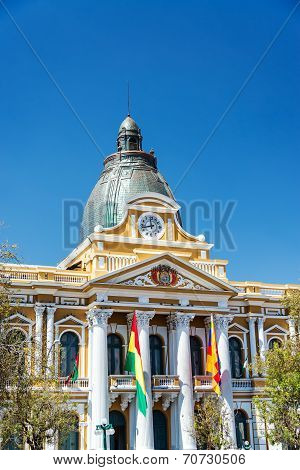 La Paz, Bolivia Legislature Building