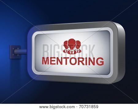 Mentoring Word On Billboard