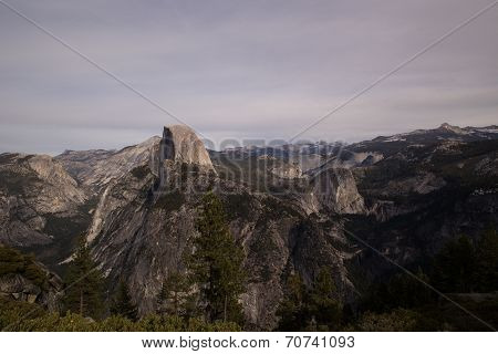 View of Half Dome in Yosemite National Park