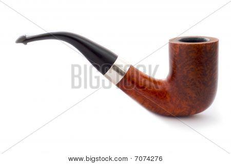 Smoking Pipe In Profile