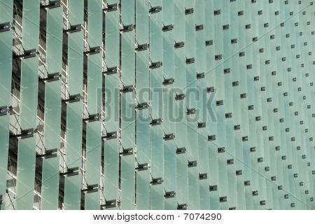 Vertical Glass Architectural Elements