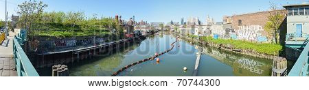 Gowanus Canal, Brooklyn, New York