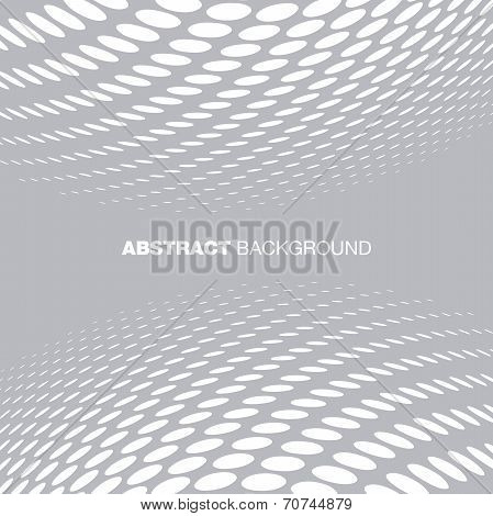 Abstract Halftone Gray Technology Background