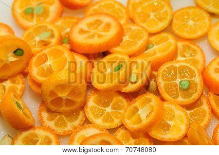 sliced kumquat