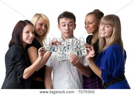 Young People With Money