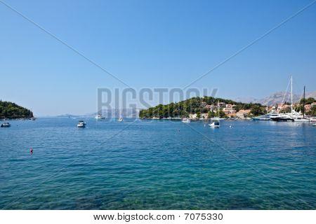 alte Stadt Cavtat Kroatien