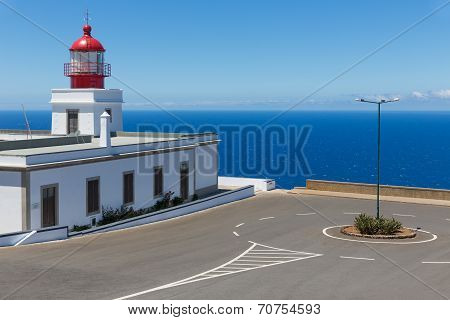 Lighthouse At The West Point Of Madeira Island