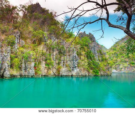 Kayangan lake. Coron island