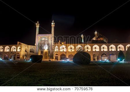 Night view of Imam square