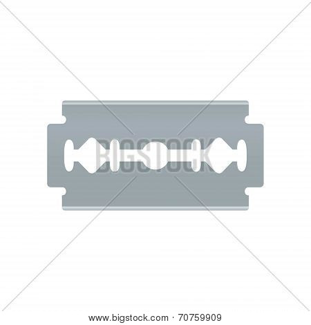 Blade razor. Vector object on white background.
