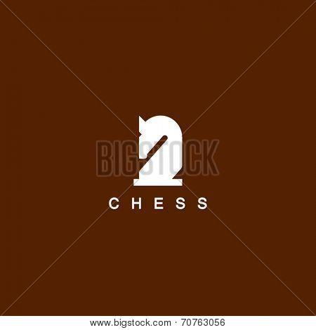 Chess. Horse symbol