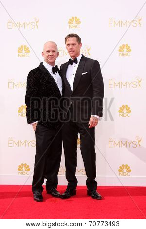 LOS ANGELES - AUG 25:  Ryan Murphy at the 2014 Primetime Emmy Awards - Arrivals at Nokia Theater at LA Live on August 25, 2014 in Los Angeles, CA