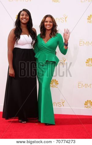 LOS ANGELES - AUG 25:  Vanessa L. Williams at the 2014 Primetime Emmy Awards - Arrivals at Nokia Theater at LA Live on August 25, 2014 in Los Angeles, CA