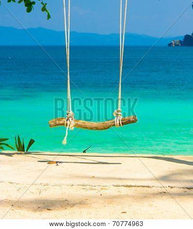 Under the Trees Seaside Swing