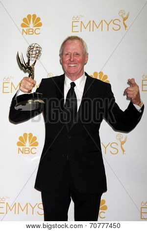 LOS ANGELES - AUG 25:  Bertram van Munster at the 2014 Primetime Emmy Awards - Press Room at Nokia Theater at LA Live on August 25, 2014 in Los Angeles, CA