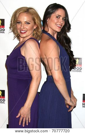 LOS ANGELES - AUG 23:  Beth Henley, Chloe Valentine at the Hollywood Red Carpet School at Secret Rose Theater on August 23, 2014 in Los Angeles, CA