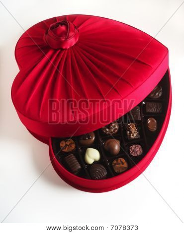 Luxury Chocolate Box Open