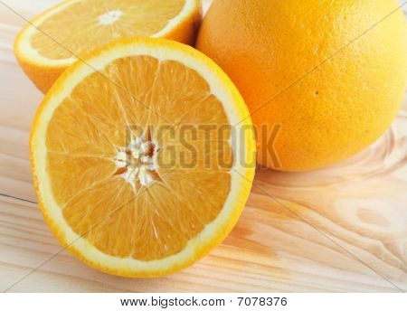 Sliced Navel Orange