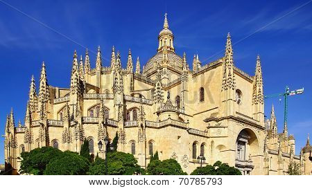 Segovia Cathedral.