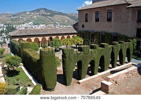 Patio de Machuca, Palace of Alhambra.