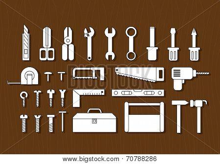 18White Tool Kits